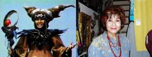 RITA REPULSA -  MACHIGO SOGA Nella serie era la perfida Rita Repulsa, nemica di Zordon e antagonista dei Power Rangers, contro cui scagliava terribili mostri. Nel 2006, a 68 anni, l'attrice giapponese Machigo Soga è morta a causa di un tumore al pancreas.