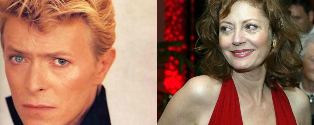 Susan Sarandon si confessa, dalla droga a David Bowie