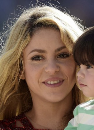 Brasile 2014, cerimonia di chiusura con Shakira e il piccolo Milan