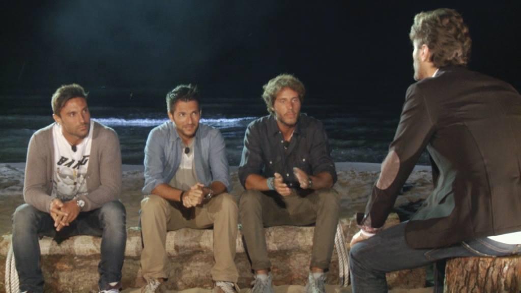 Temptation Island Gabriele Manfredi ed Emanuele falò quarta ed ultima puntata del docu reality Mediaset