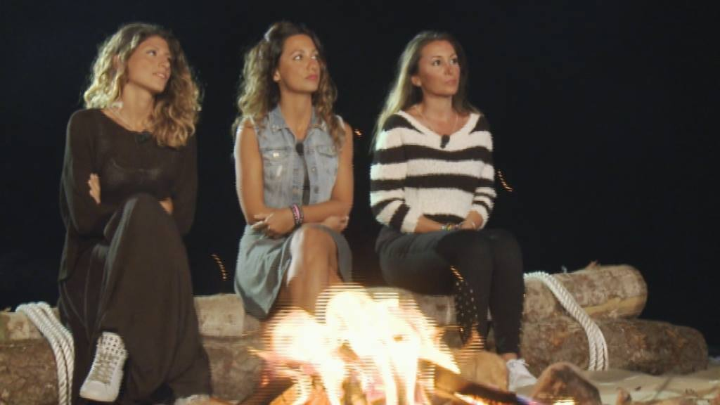 Temptation Island Sonia Giorgia e Debora quarta ed ultima puntata del docu reality Mediaset