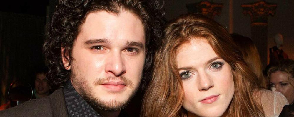 Game of Thrones, Kit Harington e Rose Leslie: il matrimonio sta arrivando
