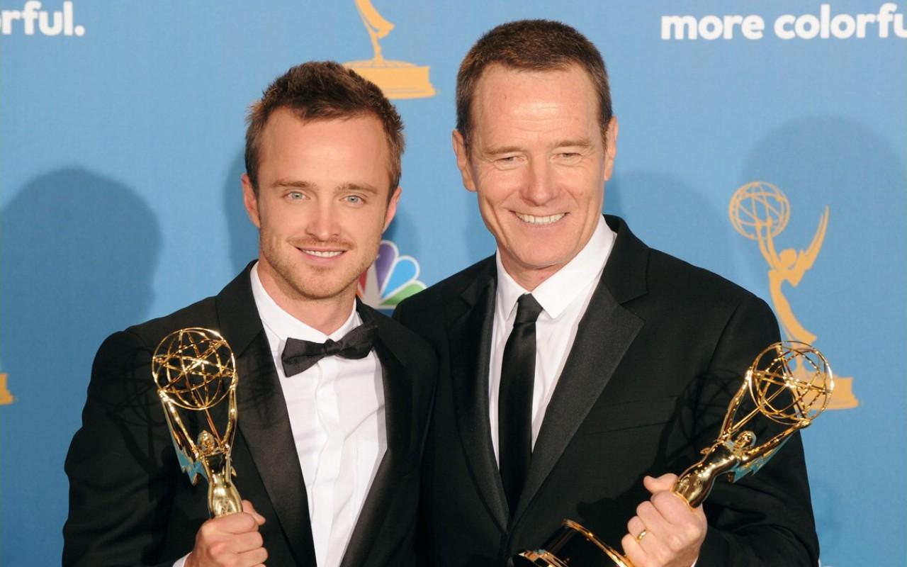 Troppi Emmy per Bryan Cranston e Aaron Paul: ora spacciano gli Oscar della tv
