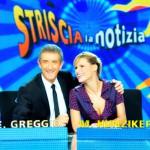 Striscia la Notizia, da lunedì Ezio Greggio a fianco di Michelle Hunziker