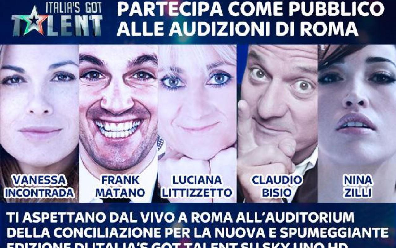 Italia's Got Talent, a Roma le prime audizioni davanti a Bisio, Littizzetto, Matano e Zilli