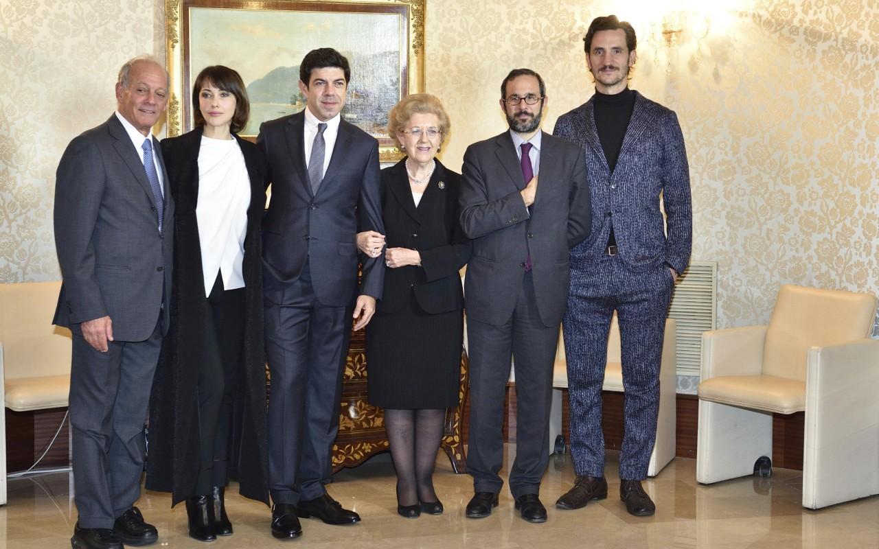 Pierfrancesco Favino è Giorgio Ambrosoli in 'Qualunque cosa succeda'