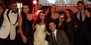 Jersey Shore: Snooki si è sposata in stile Grande Gatsby ma Jionni LaValle non è DiCaprio