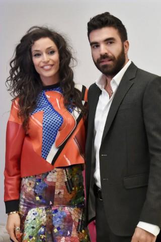 """Raffaella Fico e Gianluca Tozzi presentano """"Rush"""""""