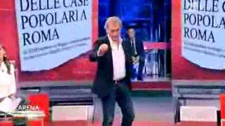 L'Arena, gli attimi del malore di Massimo Giletti