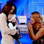 Domenica Live, da Barbara d'Urso c'è Micol Olivieri con la piccola Arya