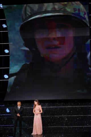 Vittoria Puccini a Sanremo 2015 racconta la sua Oriana Fallaci