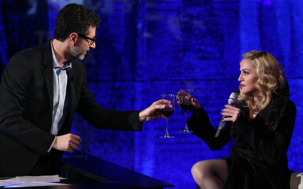 Madonna a Che tempo che fa da Fabio Fazio parla di libertà, arte, delle donne e Rebel Heart