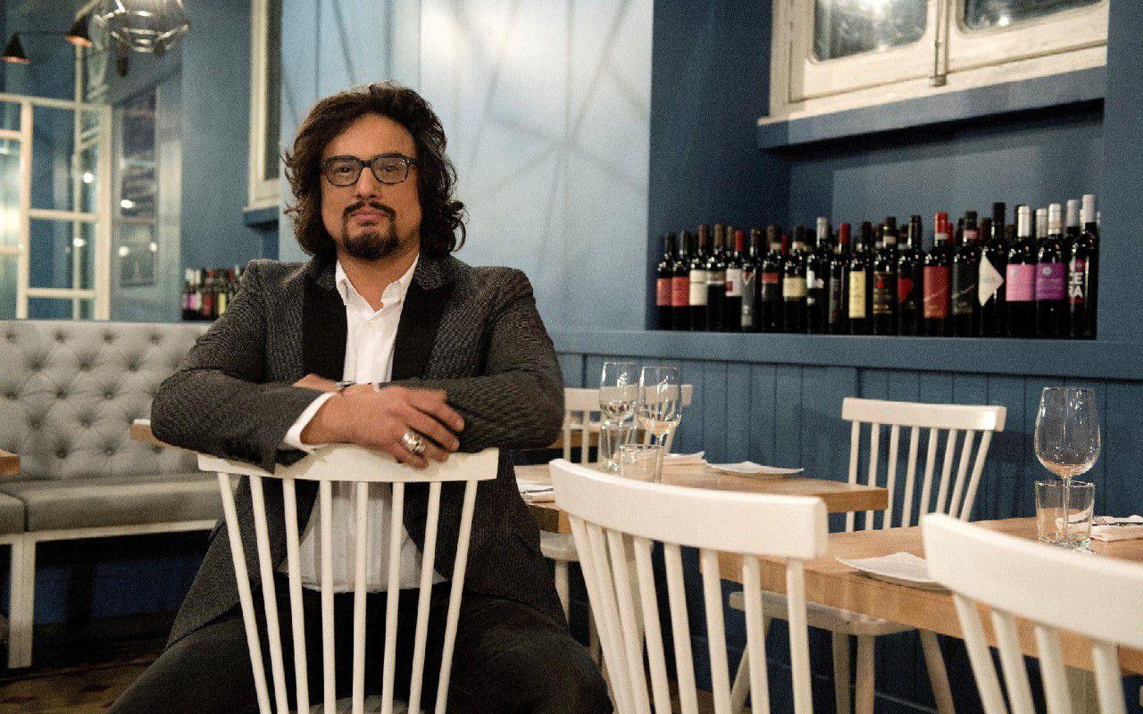 Alessandro borghese 4 ristoranti lo chef torna on the for Alessandro borghese milano