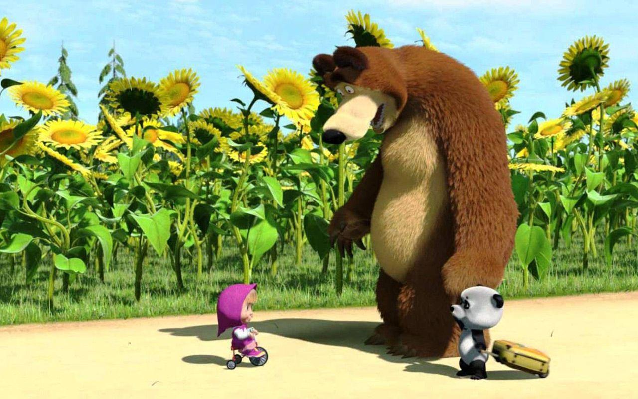 Masha e orso avanza su rai yo il cartoon che arriva
