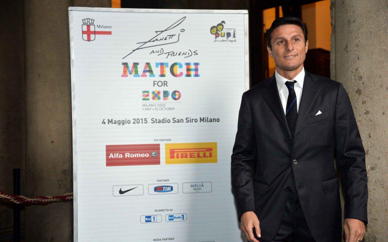 Match for Expo, la partita benefica firmata Javier Zanetti con Il Volo e Lorenzo Fragola