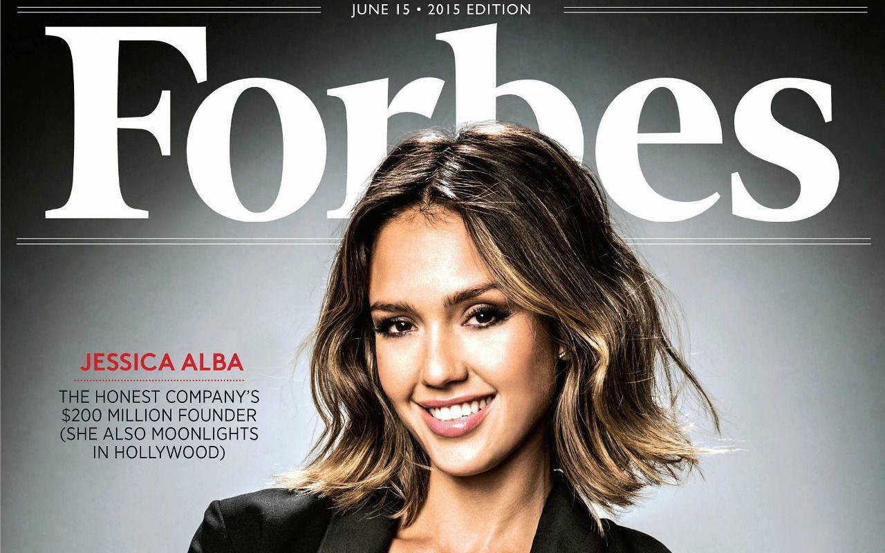 Da sexy star a imprenditrice, per Forbes Jessica Alba vale un miliardo di dollari