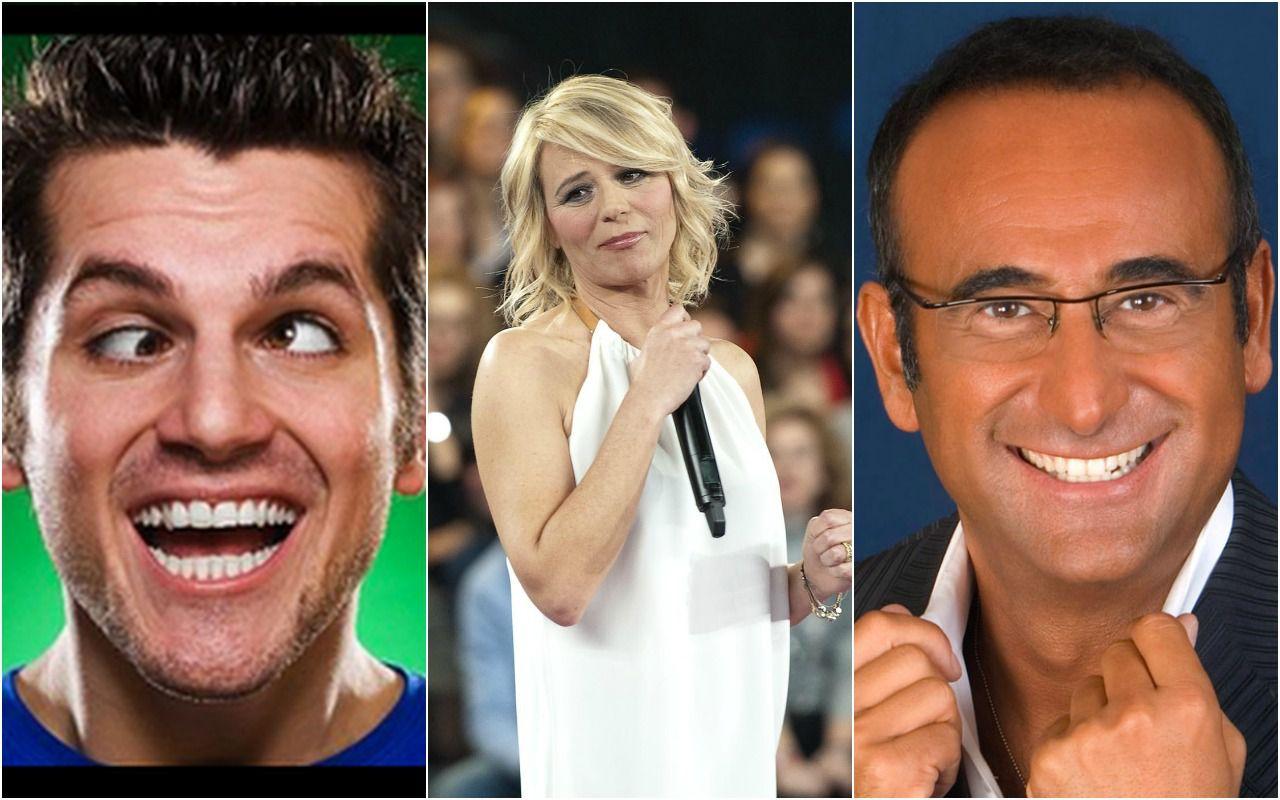 Premio tv: vincono Carlo Conti, Maria De Filippi e Frank Matano