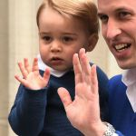 Royal Baby, il principino George va a trovare la sorellina accompagnato da William
