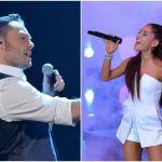 Tiziano Ferro e Ariana Grande a The Voice of Italy, le esibizioni nella finale