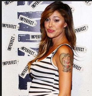 belen rodriguez tatuaggio