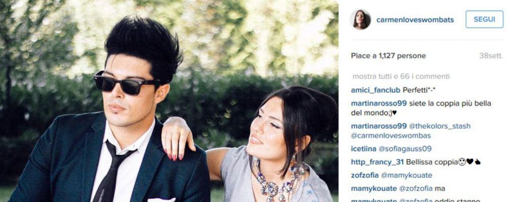 Amici 14, svelato il nome della fidanzata di Stash: è Carmen Fiorentino