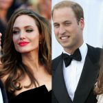 Brad Pitt e Angelina Jolie, the reale con William e Kate