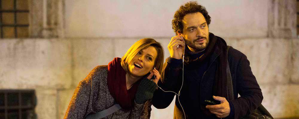Ascolti tv: Claudio Santamaria e Claudia Pandolfi battono il GF14, in crescita nel socialscore