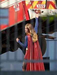 Supergirl in scena