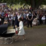 Royal Baby, tutte le foto del battesimo di Charlotte Elizabeth Diana