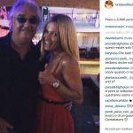 Michelle Hunziker al Twiga con Briatore