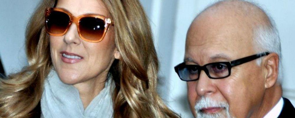"""Celine Dion: """"Renè mi ha detto 'Voglio morire tra le tue braccia'. E io lo accoglierò"""""""