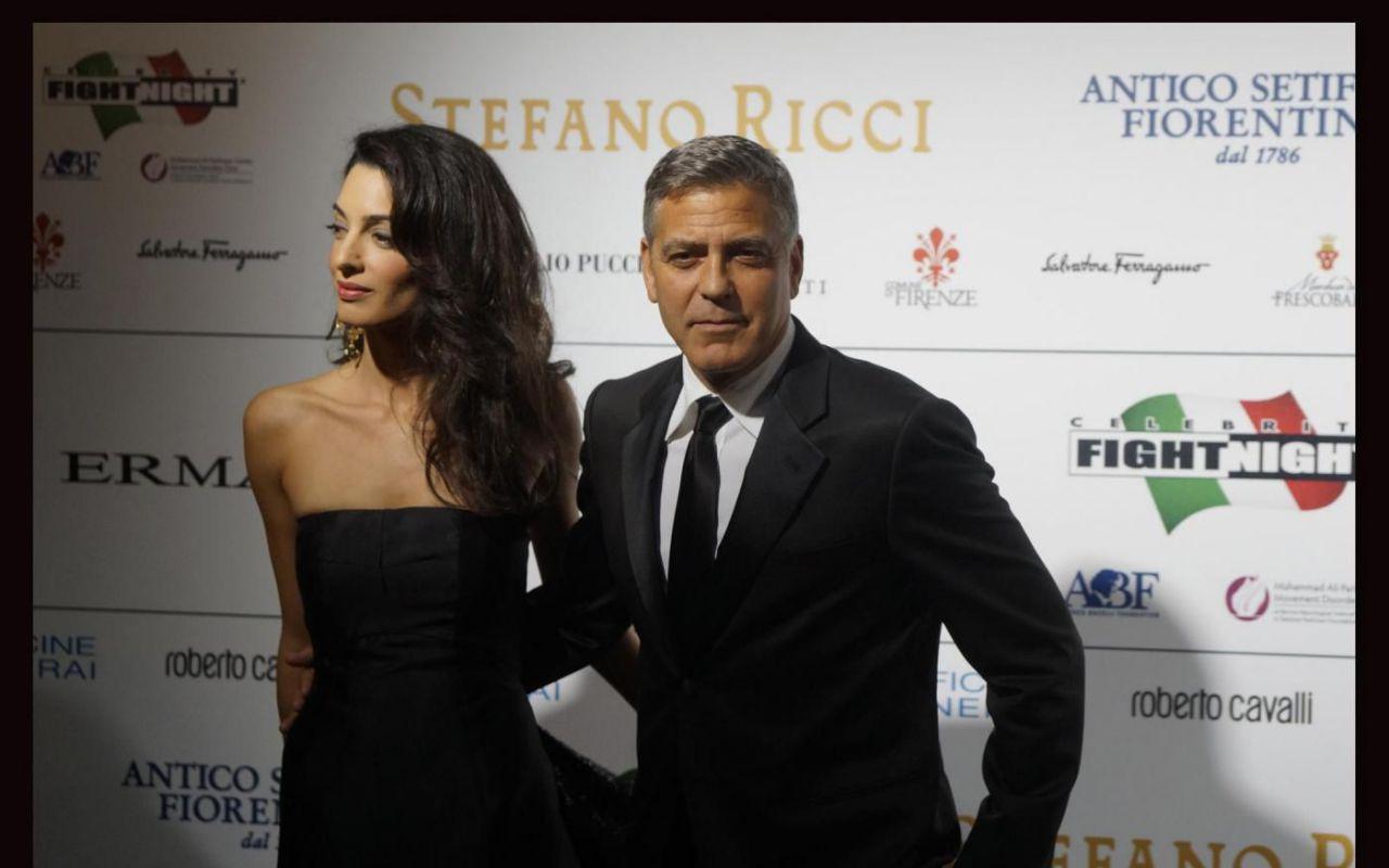 "George Clooney: ""Così ho chiesto ad Amal di sposarmi"""