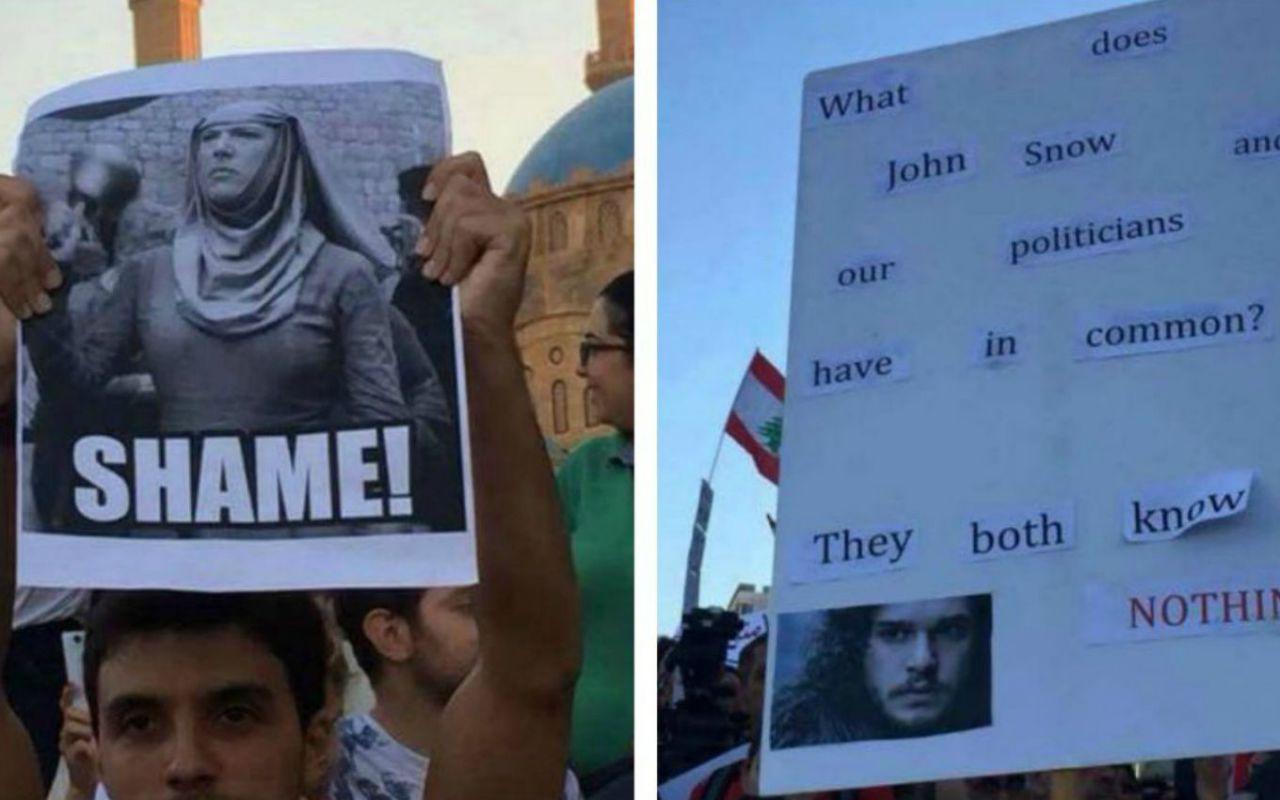 In Libano protesta come in Game of Thrones, ABC ordina una serie su un moderno Giulio Cesare