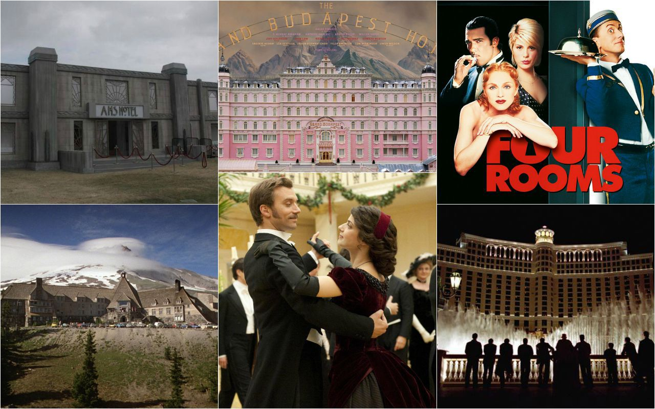Inquietanti, sontuosi, terrificanti, folli: i migliori hotel al cinema e in tv