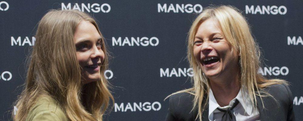 Kate Moss e Cara Delevingne infiammano Milano per la campagna #somethingincommon