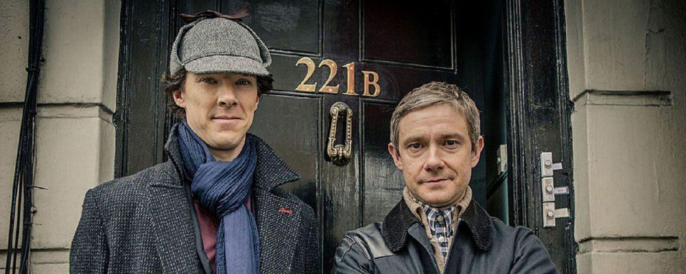 Sherlock torna il primo gennaio 2017 con Benedict Cumberbatch e Martin Freeman