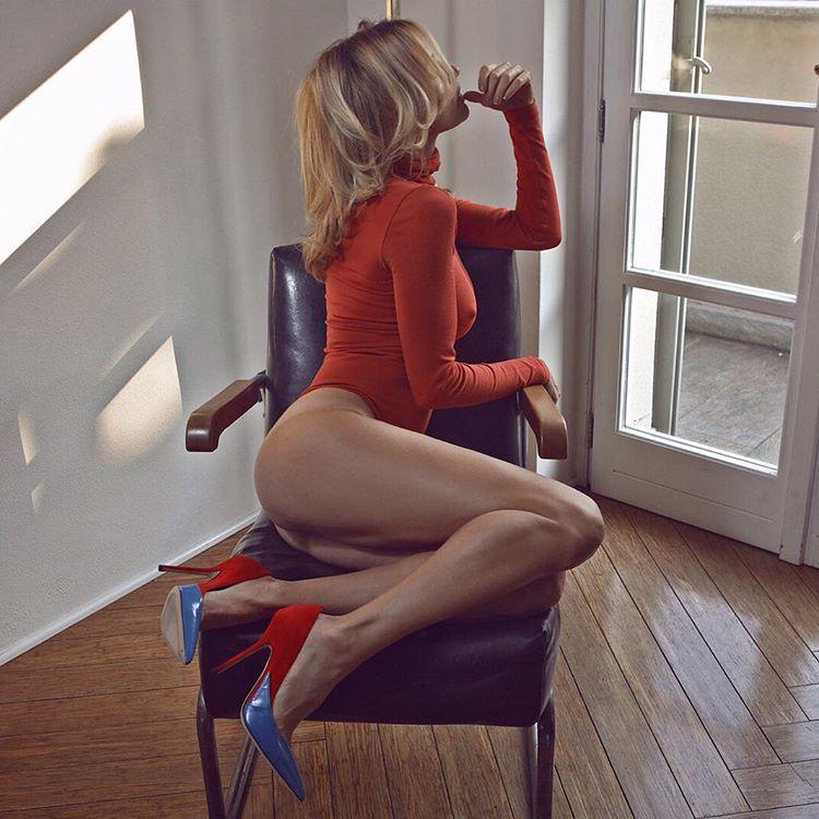 Hot milf barbara bieber pleasing men in her white lingerie - 2 part 4