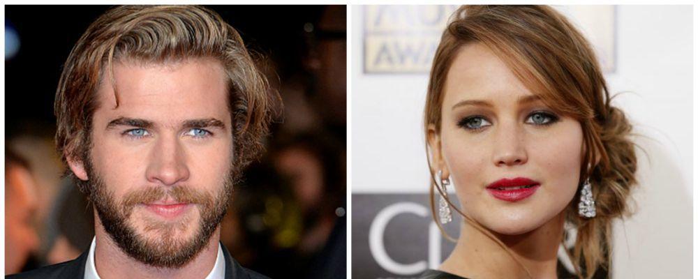 """Jennifer Lawrence: """"Sì, è vero, ho baciato Liam Hemsworth: è troppo figo"""""""
