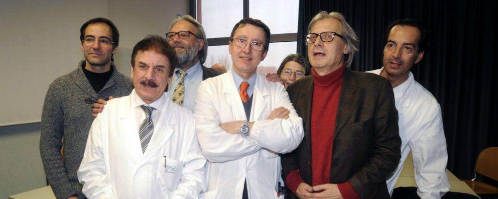Vittorio Sgarbi è stato dimesso 'Ringraziamento all'equipe dei medici'