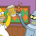 Simpson vs Futurama vs Griffin, gli episodi natalizi: quando Homer incontra Peter e... Bender