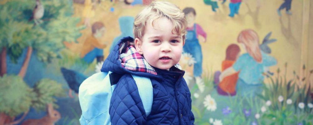 Baby George, primo giorno di scuola per il figlio di William e Kate