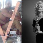 Lady Gaga e Taylor Kinney, autoscatto nudi per V Magazine