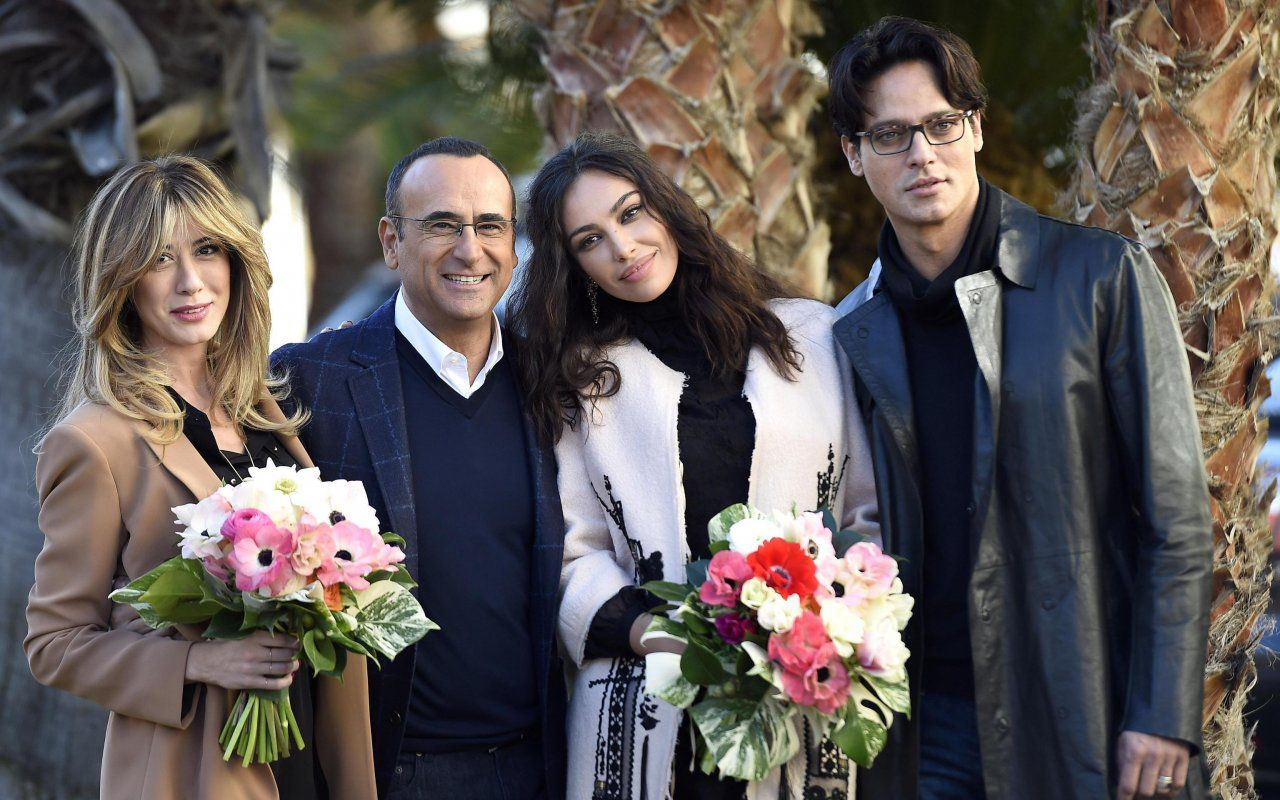Sanremo 2016, per Carlo Conti la grande bellezza con Madalina Ghenea, Virginia Raffaele e Gabriel Garko