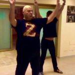 Platinette come Raffaella Carrà balla Rumore preparandosi a Ballando 11
