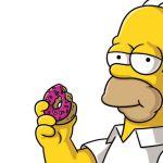 Inghilterra, guida con la patente di Homer Simpson: denunciato