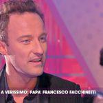 """Francesco Facchinetti a Verissimo: """"A marzo di nuovo papà, poi mi sposo in chiesa"""""""