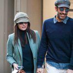 Gigi Buffon e Ilaria D'Amico passeggiata insieme mano nella mano