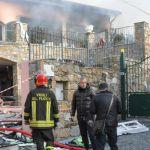 Gabriel Garko: le immagini della villa ligure distrutta dopo l'esplosione