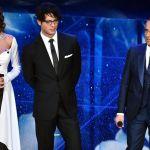 Sanremo 2016, Gabriel Garko come Cary Grant, Madalina Ghenea Woman in Red