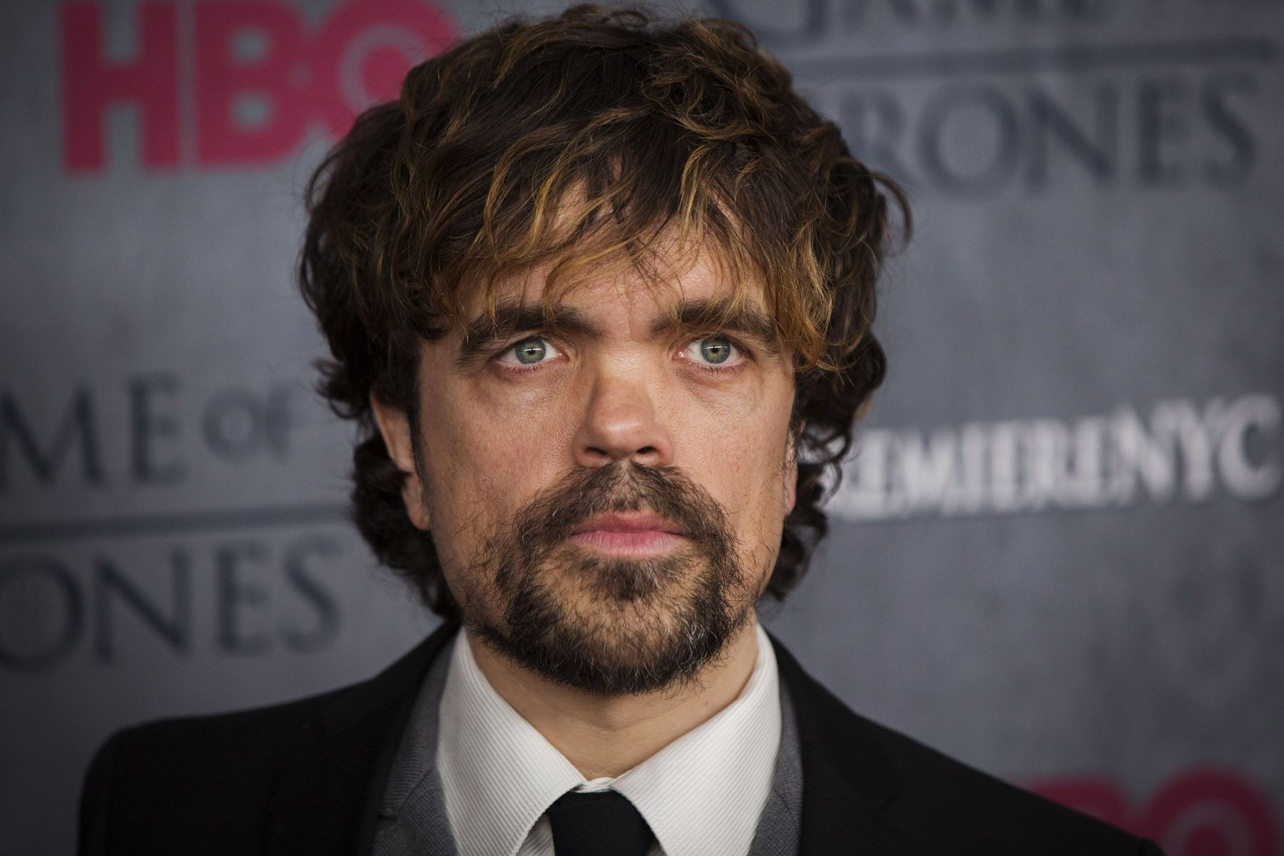 "Cast member Peter Dinklage arrives for the premiere of the HBO series ""Game of Thrones"" in New York"
